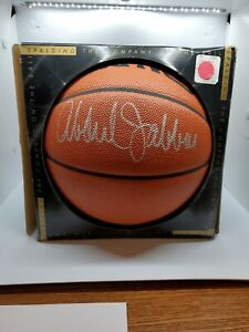 Kareem Abdul Jabbar Autographed Spalding Basketball