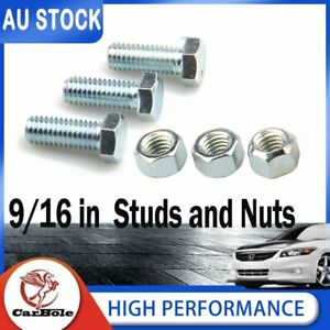 6PCS Set High Performance 3413 Header Collector Bolt Kit W/ Special Locking Nuts
