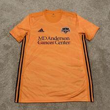 Adidas Houston Dynamo Aeroready Jersey Orange 2019-20 Men's Size Large NWT