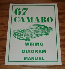 1967 Chevrolet Camaro Wiring Diagram Manual 67 Chevy