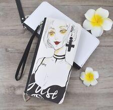 10pcs Sublimation blank diy customize Print PU Bag women bag PU wallet handbag