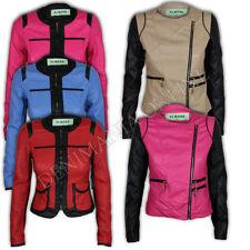 Manteaux et vestes motard en cuir pour femme