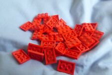 Lego Plates 2 x 3 Ref 3021 in Red x 39pcs
