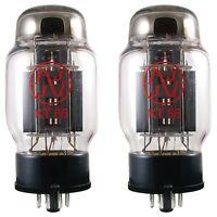 JJ/Tesla KT66 Power Vacuum Tubes Valves, Matched Pair