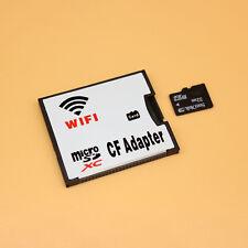 TF MicroSD Card to Wifi Wireless CF Card Type I Adapter, TF to Wifi CompactFlash