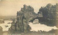 California Pillsbury #1809 1920s Natural Bridge Pacific Grove RPPC Postcard 5561