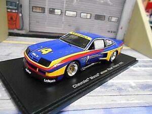 CHEVROLET Monza Coupe V8 Road Atlanta Winner TransAm 1976 #14 Holbert Spark 1:43
