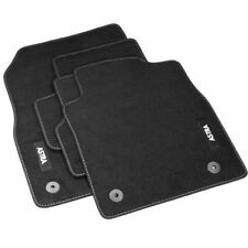 Vauxhall ASTRA J Mk6 Black Front & Rear Car Floor Carpet Mats Tailored Genuine