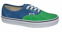 Vans OTW Authentic Lace Up Green Blue Washed 2 Tone Unisex Canvas Plimsolls