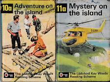 Ladybird Books: Key Words Reading Scheme, 10a and 11a (matt; 24p)