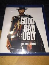 THE GOOD, THE BAD & THE UGLY BLU RAY Movie- Brand New -Fast Ship(HMV-423/HMV-71)