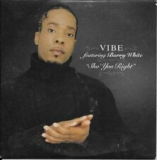 CD SINGLE PROMO--VIBE FEAT BARRY WHITE--SHO YOU RIGHT