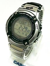 Casio Tough Solar 5 Alarms World Time W-S200HD-1A Men's Watch 120 Lap Memory New