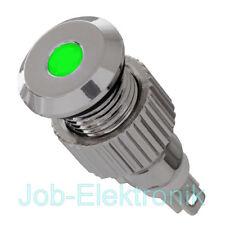 12V LED Signalleuchte IP67 grün 8mm Kontrollleuchte Signallampe  Meldeleuchte