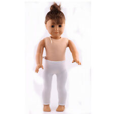 New style white clothes Leggings pant for 18inch American girl doll  b789