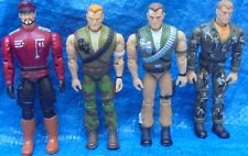 G.I. Joe ARAH Action Figure Lot D-Day Sgt Savage General Blitz Hasbro 1994 GI