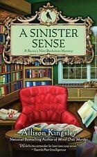 A Sinister Sense (A Raven's Nest Bookstore Mystery)-ExLibrary