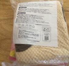 NOS 2015 Rilakkuma Blanket San-x Japan Bear Kawaii SANX Mister Donut Store Promo