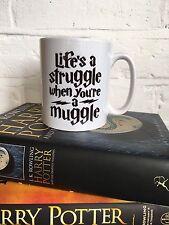Harry Potter Muggle Quote Mug. Christmas Gift Idea/ Stocking Filler/ Office