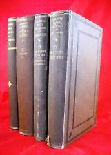 4 x Antik - Bücherpaket - Geschichte der Philosophie von Überweg - Antiquariat