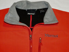 MARMOT SHIELD SOFTSHELL JACKET STRETCH WATER RESISTANT RED MEN'S S SMALL~EXCELL