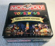 Monopoly Toys R Us Time Square Edition Tin Box. SEALED!