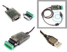Convertisseur USB RS-485 + Plaque rapportée /  RS485