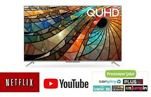 "TCL 4K HDR 50P715 50"" QUHD Smart Android TV w/ Dolby Audio/Netflix/YouTube/Stan"