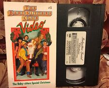 The Babysitters Club Vhs Video V5 Vol 5 CHRISTMAS SPECIAL BABY-SITTERS