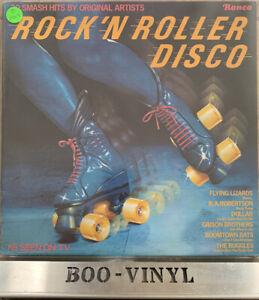 1979~Rock 'n' Roller Disco~Vinyl Album LP~UK🇬🇧Original Press~Ronco~RTL2040 EX+