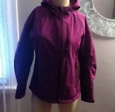 FREE COUNTRY WOMEN'S PURPLE HOODED JACKET SIZE- M