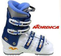 NORDICA GP TJ 4 buckle downhill ski boots junior 19 19.5 kids boys girls 12.5 13