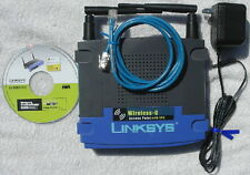 Linksys WAP54G Wireless Access Point Bridge Internet WIFI WEB