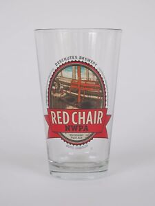 Deschutes Brewery, Red Chair, Pint Glass - NEW