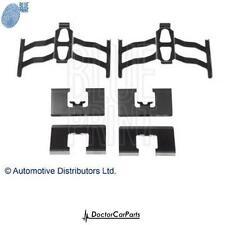 Brake Pad Fitting Kit Rear for HONDA CIVIC 1.7 01-05 D17A9 CTDi ADL