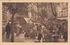 TOULON scènes pittoresques du marchand de cours Lafayette magasin Chanal fromage