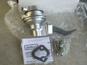 Edelbrock 17002 Victor Billet Aluminum Fuel Pump Small Block Ford 289 302 351W