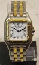 Quarz-Taschenuhren (Batterie) mit Edelstahl-Armband und Datumsanzeige