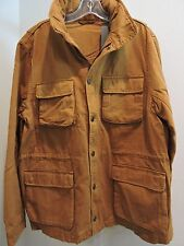 NWT $295 Slate & Stone Cotton Rust Ryder Utility Buttoned/IZipp Jacket - Sz-XL *