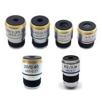 4X 10X 20X 40X 60X 100X Achromatic Objective Lens f/ Biological Microscope 185mm