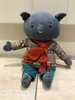 """CBeebies Adventures Of Abney And Teal Soft Toy Plush 12"""" Rare Lovely Condition"""
