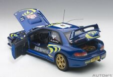 Autoart SUBARU IMPREZA WRC 1997 #4 LIATTI/FABRIZIAPONS RALLY MONTE CARLO 1/18