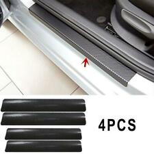 4x Auto Türschwelle Scuff Willkommen Pedal Protector Kohlefaser Aufkleber M A6F3