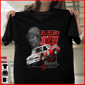 Men's Bill Elliott Black 1st Win Pocket T-Shirt