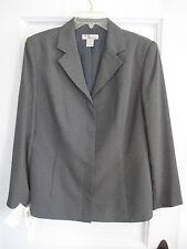 NWT ($80.00) Madison & Max Solid Gray Spring Career Blazer, 10