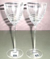 Waterford John Rocha 2 Folio #1 White Wine Glass Circle Cut 150149 New In Box