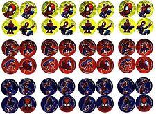 SPIDERMAN 48 Mini COOL Stickers! Spidey Marvel Comics