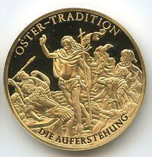 GY800 - Medaille Osterntradition Auferstehung Österreich Fünfer Jahresausgabe