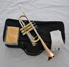 Prof. C Trumpet Rose Brass bell lead pipe horn Cupronickel tuning pipe