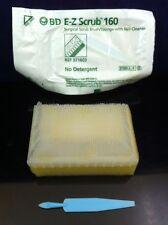 30 BD E-Z SCRUB 160 Surgical Scrub Brush/Sponges w/ Nail Cleaner Sterile 371603